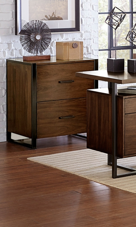 Sedley File Cabinet - Walnut