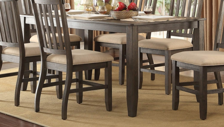 Nantes Dining Table - Wire Brushed