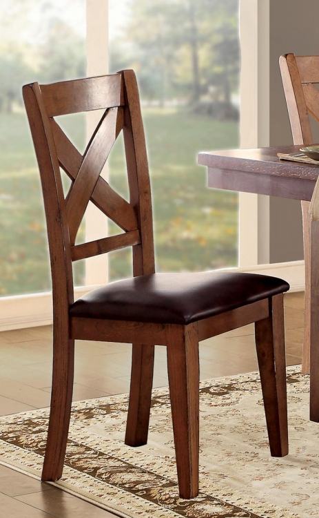 Burrillville Side Chair - Oak