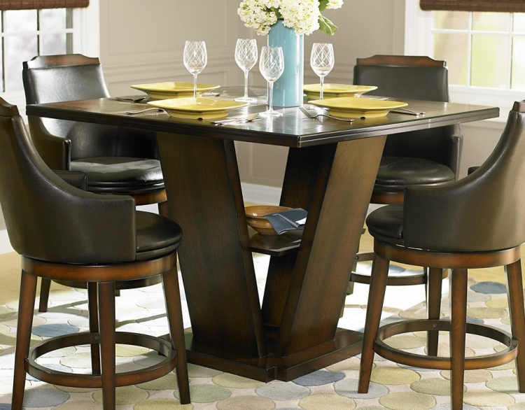 Bayshore Counter Height Dining Table - Homelegance