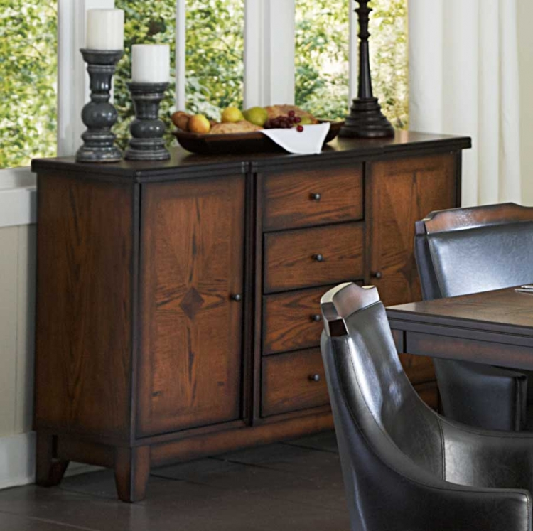 Bayshore Server - Medium Walnut