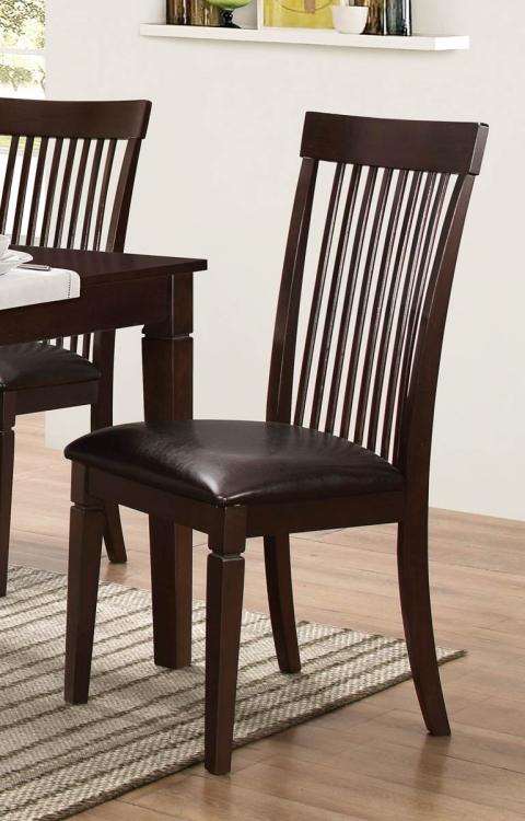 Minden Side Chair - Warm Brown