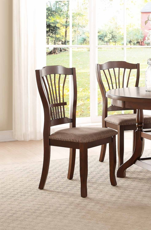 Frankford Side Chair - Brown