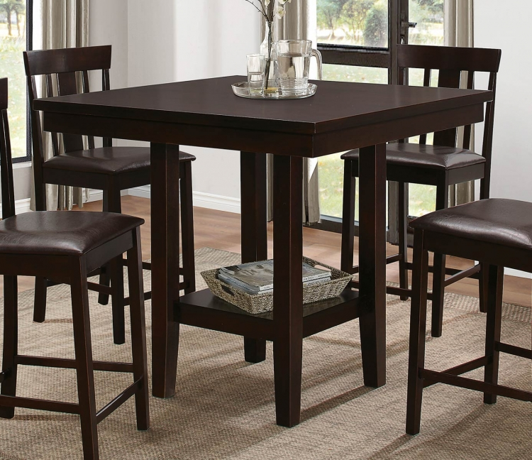 Diego Counter Height Dining Table - Espresso