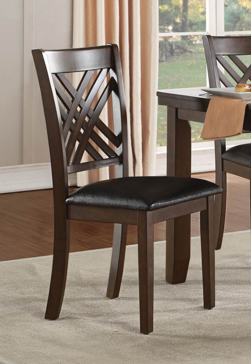 Sandia Side Chair - Brown Cherry