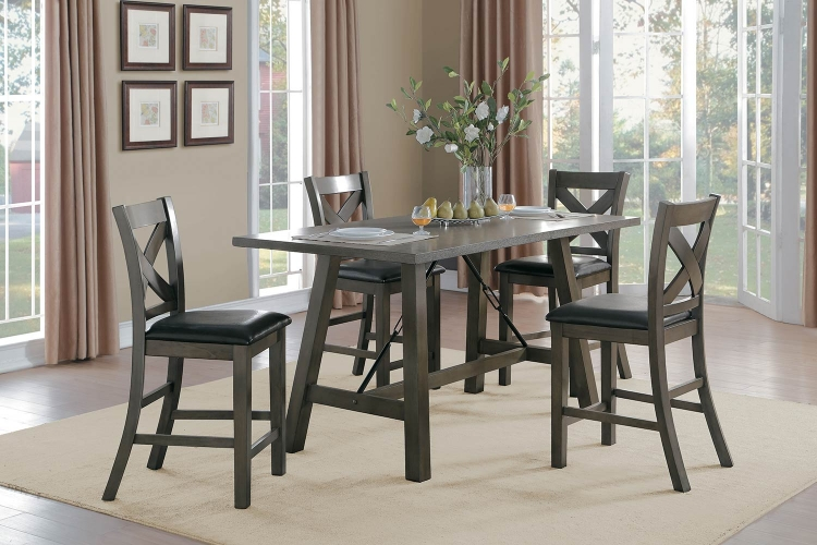 Seaford Rectangular Counter Height Dining Set