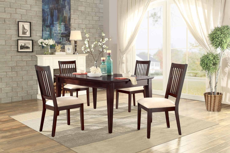 Timber Forge Rectangular Dining Set - Cherry