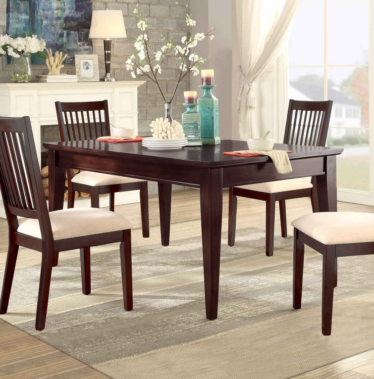 Timber Forge Rectangular Dining Table - Cherry