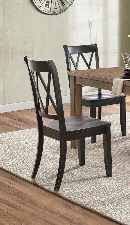 Janina Side Chair - Black
