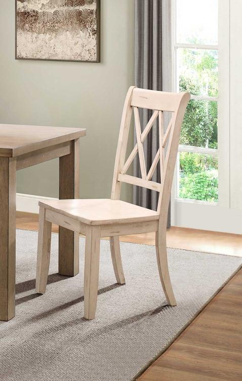Janina Side Chair - White
