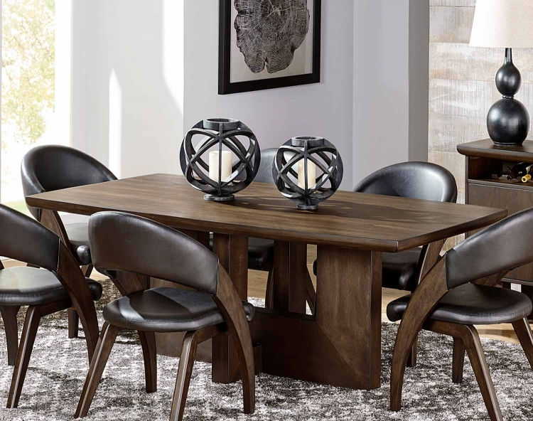Onofre Dining Table - Brown