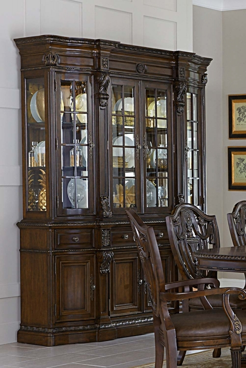 Chilton China Cabinet - Cherry