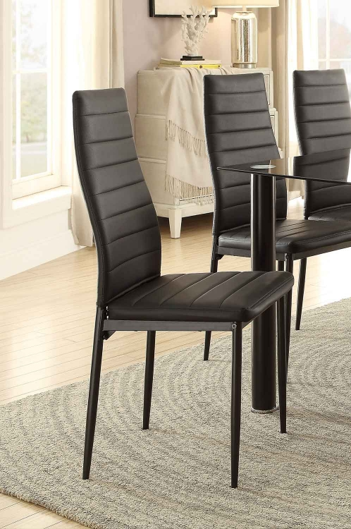 Florian Side Chair - Black
