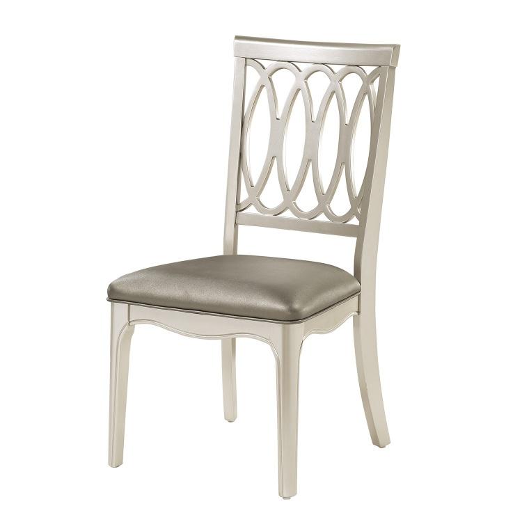 Emmeline Side Chair - Silver