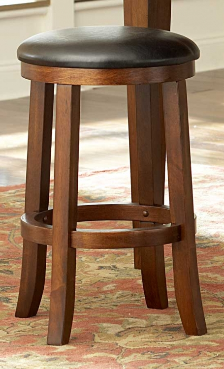 Ameillia 24 Inch Round Counter Height Stool - Homelegance