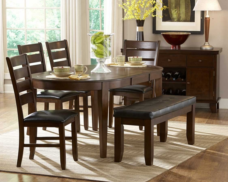 Ameillia Oval Dining Set - Homelegance