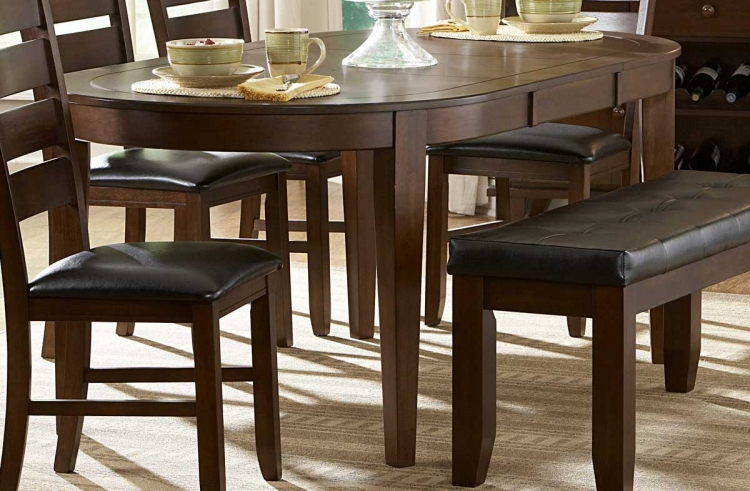 Ameillia Oval Dining Table - Homelegance