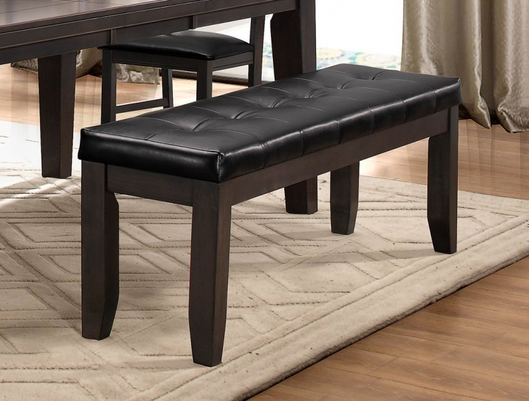 Ameillia 60-inch Bench - Grey/Brown