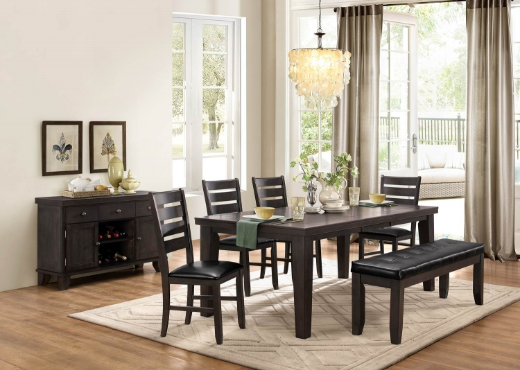 Ameillia Dining Set - Grey/Brown