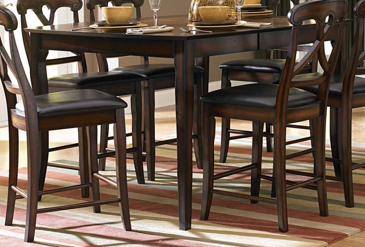 Kinston Counter Height Table with 12 inch Leaf