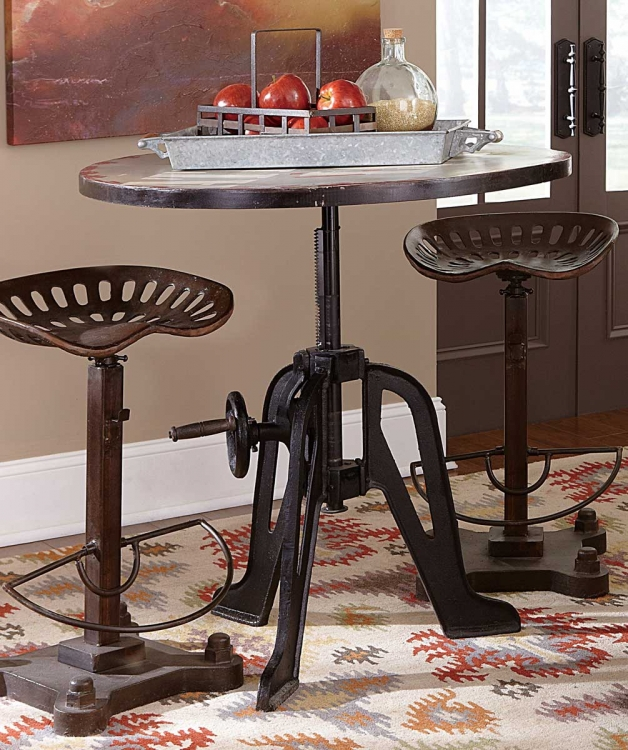 Amara Iron Lift-Top Table