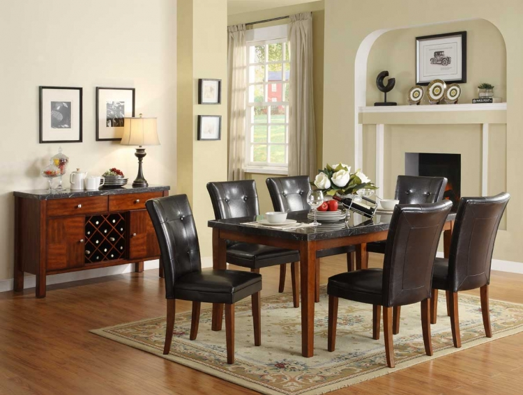 Stoney Dining Set - Homelegance