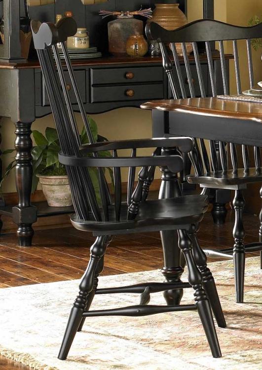 Lorna Arm Chair Black