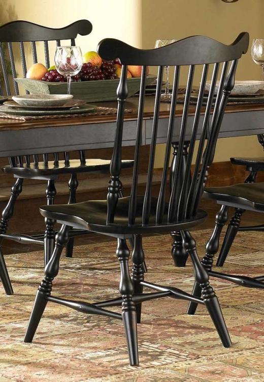 Lorna Side Chair Black