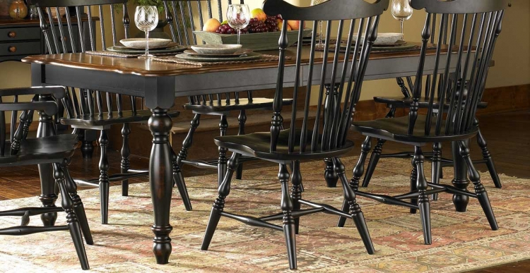 Lorna Dining Table Black