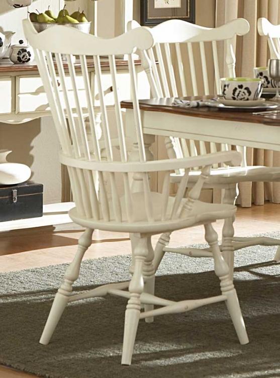 Lorna Arm Chair White