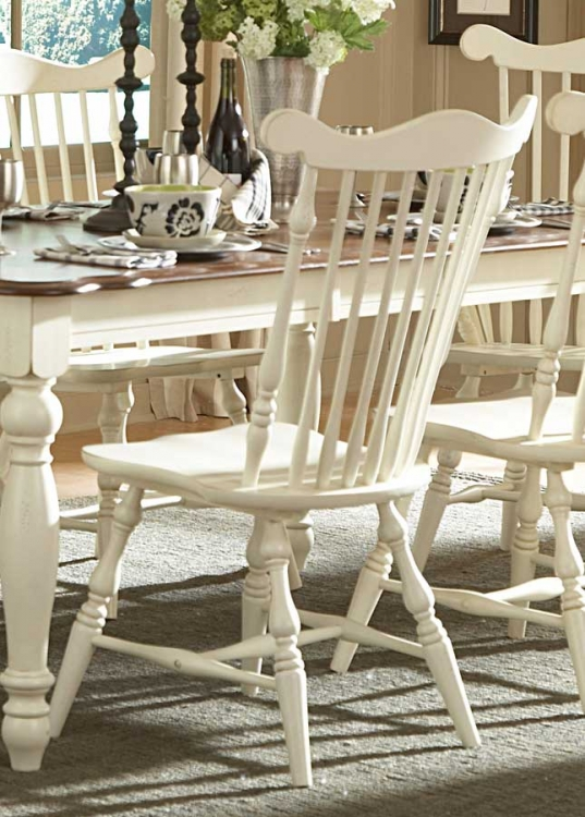 Lorna Side Chair White