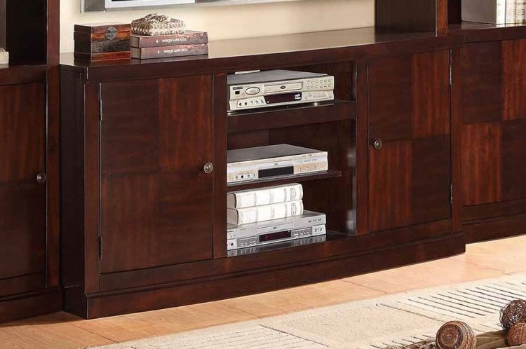Benecia TV Stand - Medium Espresso