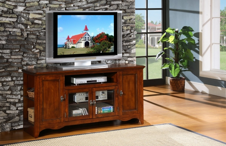 Carla 60in TV Stand - Homelegance