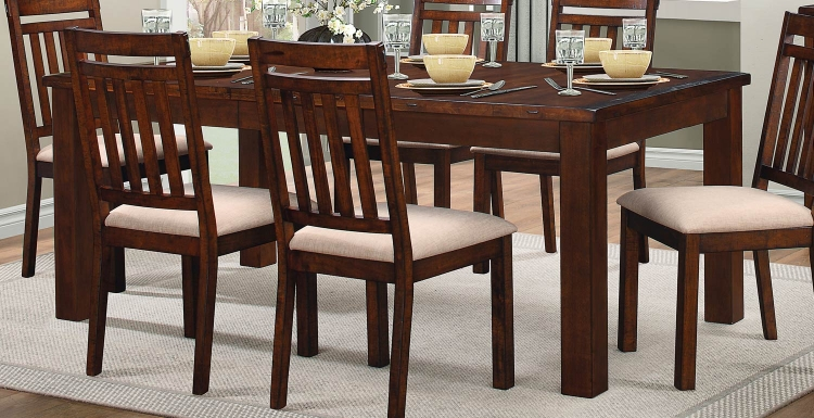 Santos Dining Table - Natural Brown