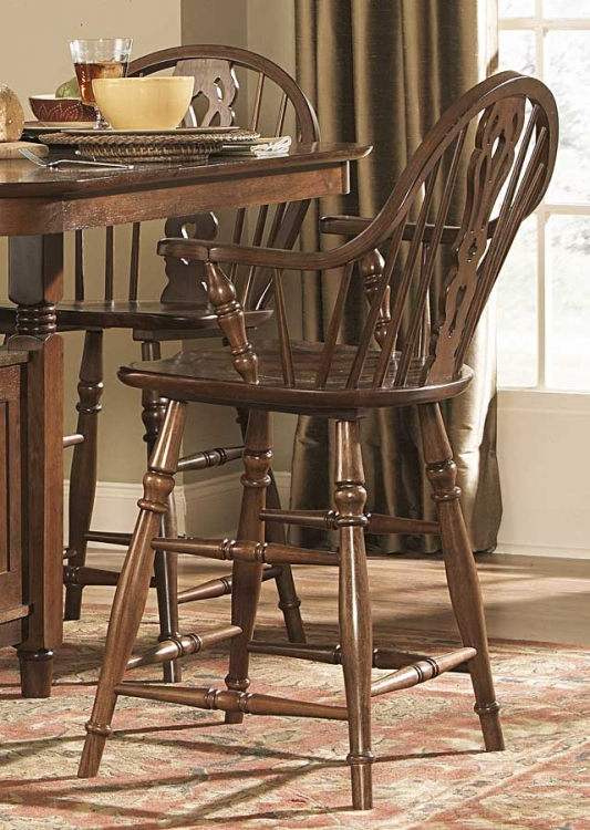 Hutto Counter Height Arm Chair