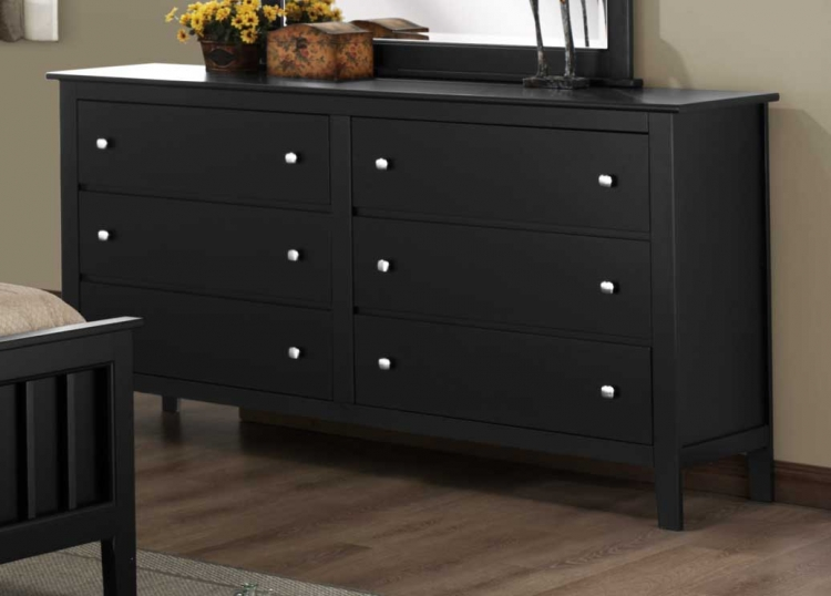 Harris Dresser - Black - Homelegance