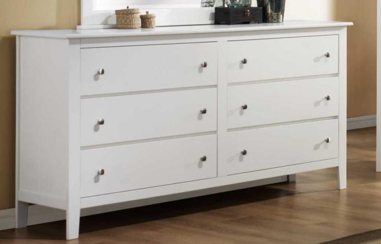 Harris Dresser - White