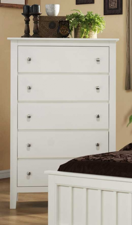 Harris Chest - White - Homelegance