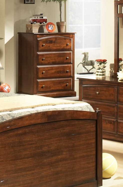 Truckee Chest-Cherry-Homelegance