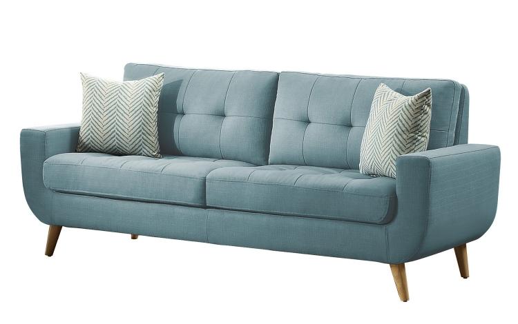 Deryn Sofa - Polyester - Teal