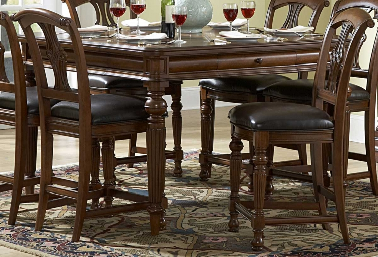 English Manor Counter Height Table