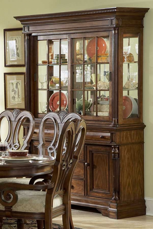English Manor China Cabinet