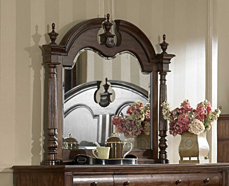 English Manor Mirror