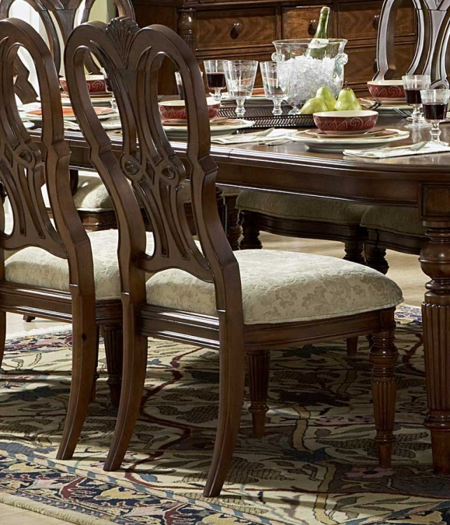 English Manor Side Chair - Homelegance