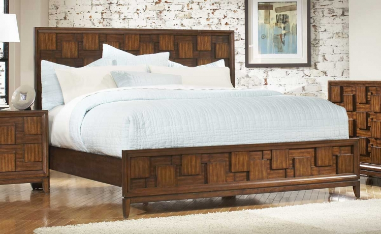 Campton Panel Bed