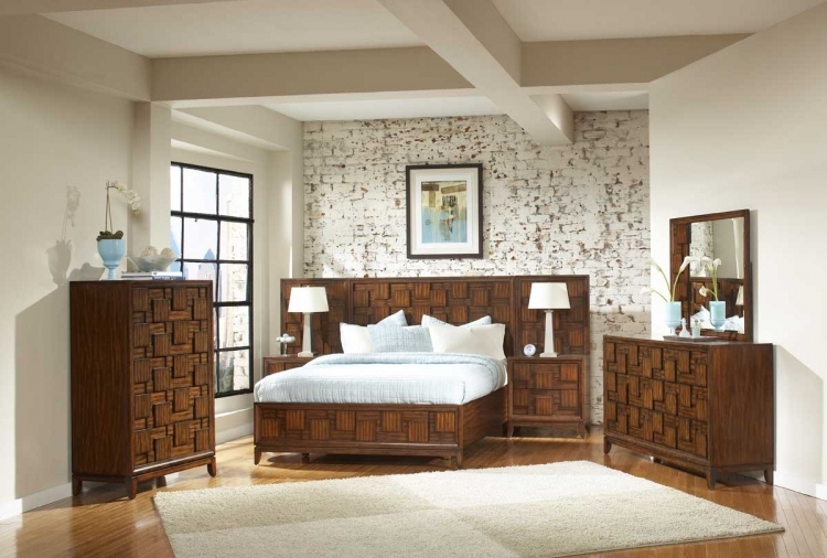 Campton Platform Bedroom Set - Homelegance