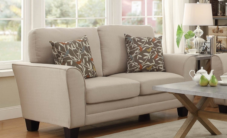 Adair Love Seat - Beige
