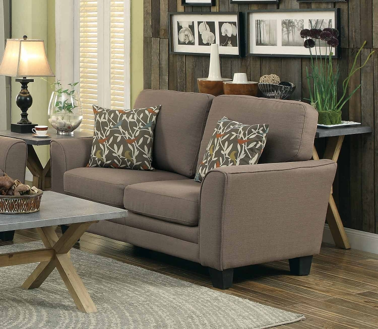 Adair Love Seat - Grey