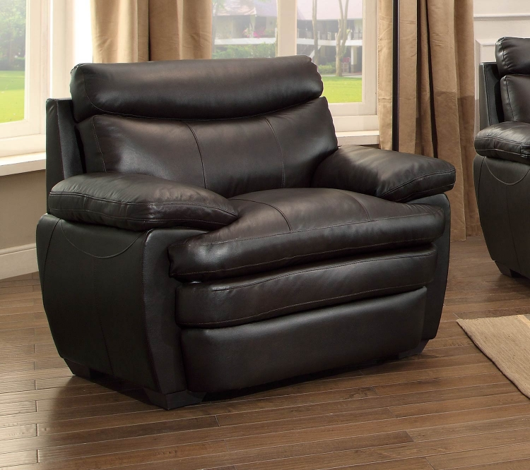 Rozel Chair - Dark Brown