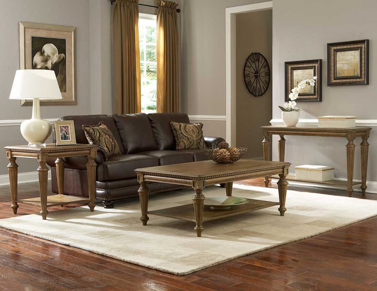 Eastover Occasional Table Set - Neutral Gray Diftwood - Homelegance